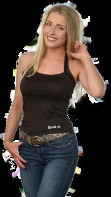 Neckholdershirt schwarz 400x400